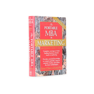 Portable MBA in Marketing - Large Secret Storage Book