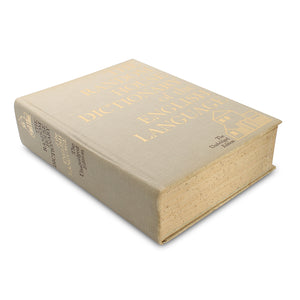 Random House Dictionary - HUGE Diversion Safe from Real Book - Secret Storage Books