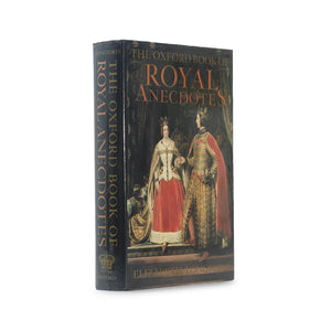 Oxford Book of Royal Anecdotes - Medium Hollow Book - Secret Storage Books
