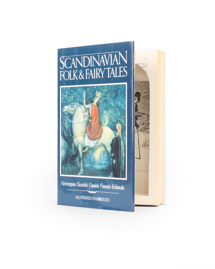 Scandanavian Folk and Fairy Tales - Large Secret Storage Hollow Book - Secret Storage Books