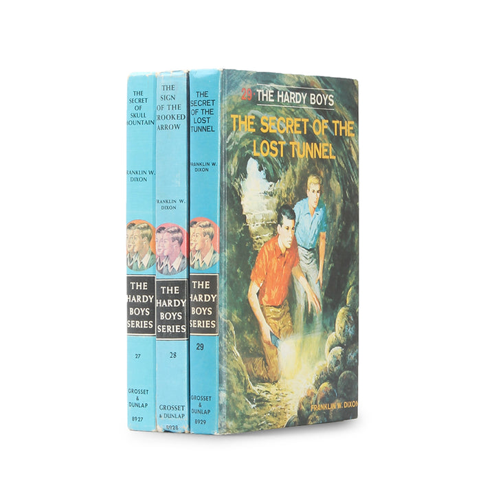 Hardy Boys - Stack of THREE - Vintage Hollow Book Safe