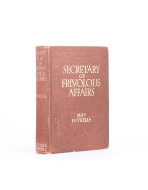Secretary of Frivolous Affairs - Vintage Hollow Book Safe - Secret Storage Books