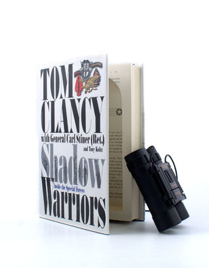 Shadow Warriors by Tom Clancy - Medium Stash Book - Secret Storage Books