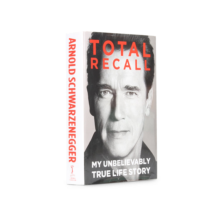 Total Recall by Arnold Schwartzenegger - Large Hollow Book