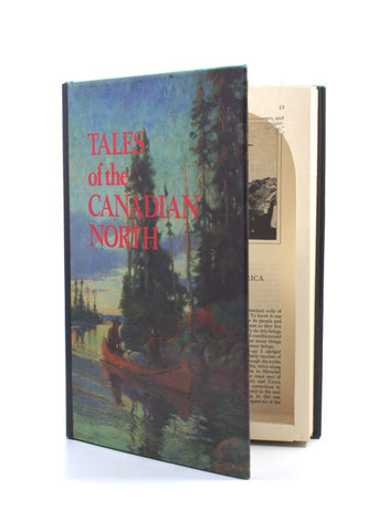 Tales of the Canadian North - Secret Storage Book Safe - Secret Storage Books - 1