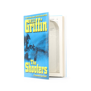 The Shooters by W.E.B. Griffin - Small Secret Storage Book Safe - Secret Storage Books
