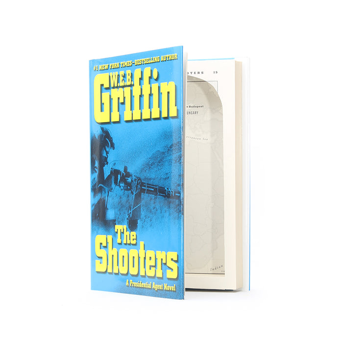The Shooters by W.E.B. Griffin - Small Secret Storage Book Safe