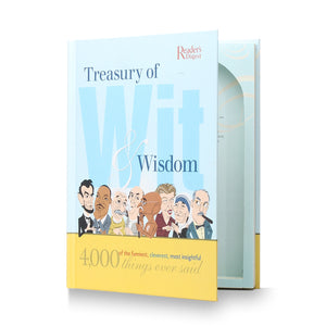Treasury of Wit and Wisdom - Secret Storage Stash Book - Secret Storage Books