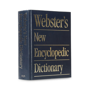 Webster's New Encyclopedic Dictionary - XXL Secret Book Safe