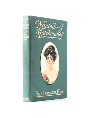 Wanted - A Matchmaker - Small Vintage Book Safe - Secret Storage Books