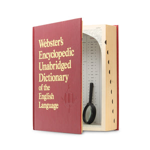 Webster's Encyclopedic Unabridged Dictionary - XXL Book Safe - Secret Storage Books