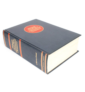 Webster's Third Int'l Dictionary - XXL Secret Storage Book