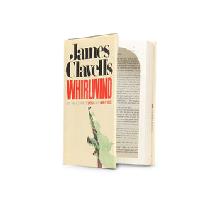 James Clavell's Whirlwind | XL Hollow Book Safe - Secret Storage Books