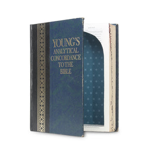 Young's Analytical Concordance to the Bible - XL Secret Book Safe - Secret Storage Books