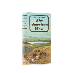 The American West - Vintage Book Safe - Secret Storage Books