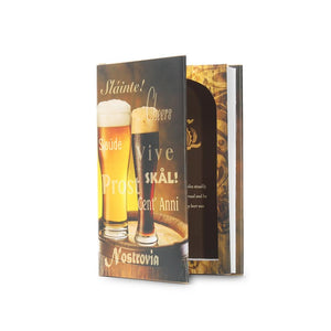 Book of Beer - Stash Book Safe - Secret Storage Books