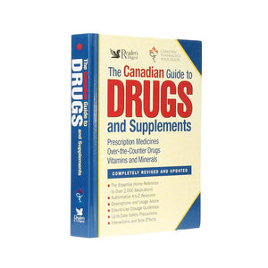 Canadian Guide to Drugs - XL Secret Compartment Book - Secret Storage Books