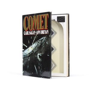 Comet by Carl Sagan & Ann Druyan - Large Hollow Book - Secret Storage Books