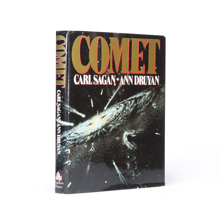 Comet by Carl Sagan & Ann Druyan - Large Hollow Book