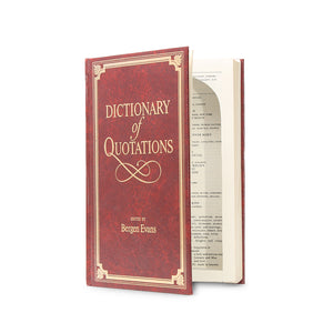 Dictionary of Quotations - Large Secret Storage Book - Secret Storage Books