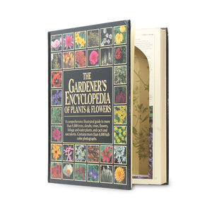 The Gardener's Encyclopedia - XL Secret Storage Book - Secret Storage Books