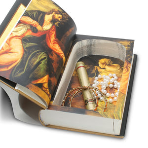 Holy Bible - Hollow Book Safe - Secret Storage Books