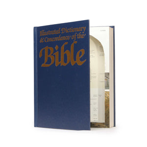Illustrated Dictionary of the Bible - XXL Hollow Book Safe - Secret Storage Books
