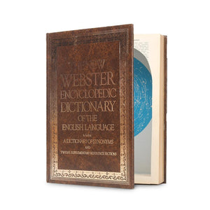 New Webster Encyclopedic Dictionary - XXL Book Safe - Secret Storage Books