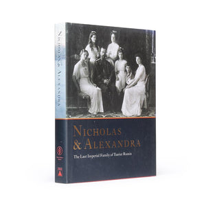 Nicholas and Alexandra - Coffee Table Book Safe - Secret Storage Books