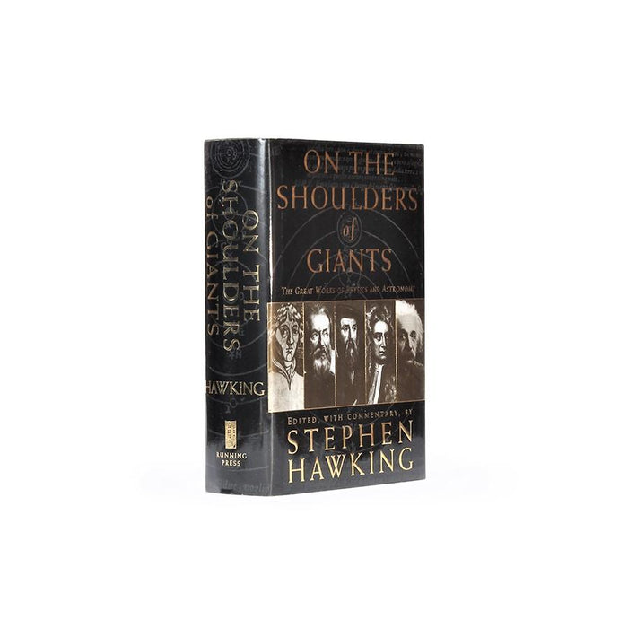 On the Shoulders of Giants by Stephen Hawking - XL Book Safe