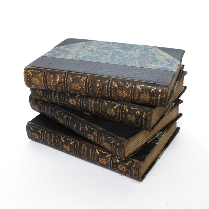 Oscar Wilde Collection of Vintage Book Safes