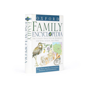 Oxford Family Encyclopedia - XL Hollow Book Safe - Secret Storage Books