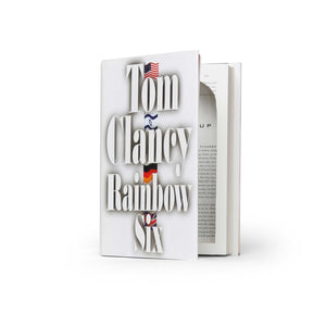 Rainbow Six by Tom Clancy - XL Hollow Book Safe - Secret Storage Books