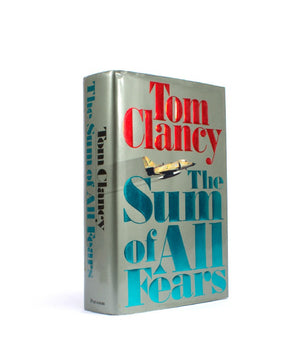 Sum of All Fears by Tom Clancey - Large Hollow Book - Secret Storage Books