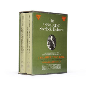 The Annoted Sherlock Holmes - XXL Vintage Hollow Book Safe - Secret Storage Books