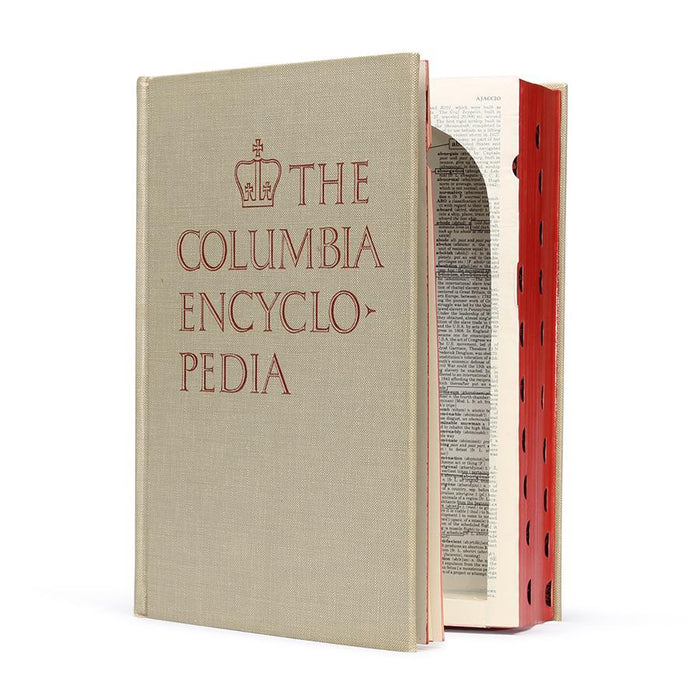 The Columbia Encyclopedia - HUGE Secret Storage Book Safe