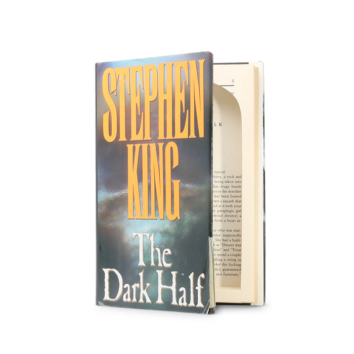The Dark Half by Stephen King - Ugly Book Safe