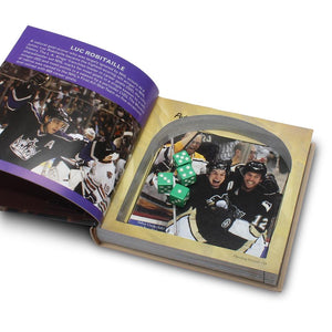 The Love of Hockey - Small Secret Storage Book Safe - Secret Storage Books