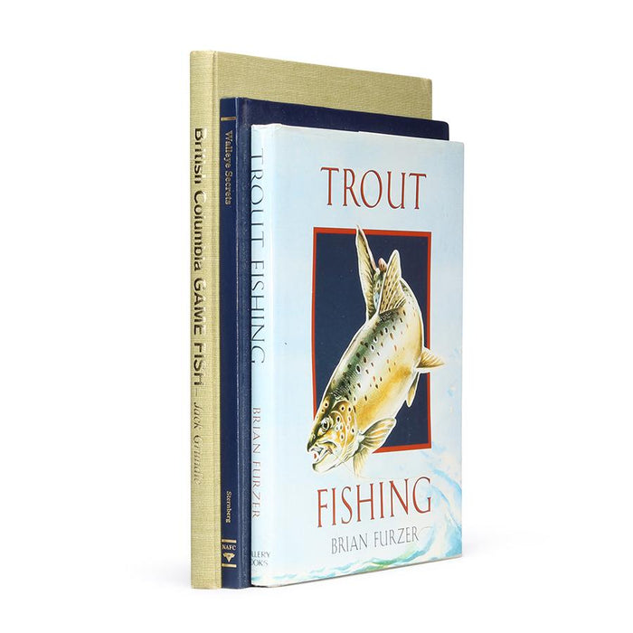Trout Fishing Stack of 3 - XL Hollow Book Safe