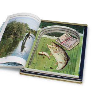 Trout Fishing Stack of 3 - XL Hollow Book Safe - Secret Storage Books