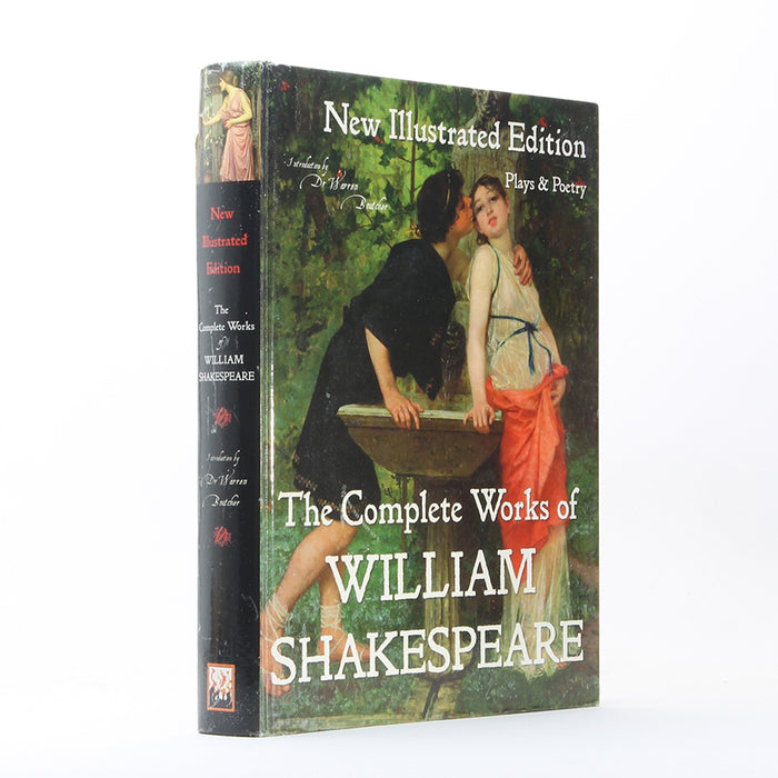 Complete Works of William Shakespeare - XL Secret Storage Book Safe