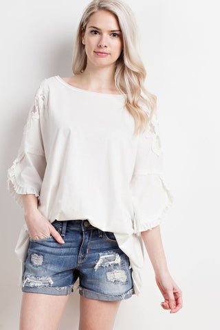 Derby Top - Ivory