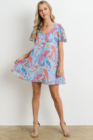 Perfect Paisley Dress