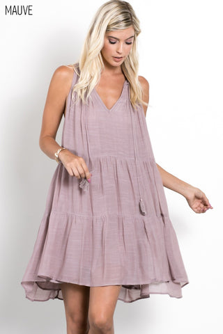 Mauve Layers Dress