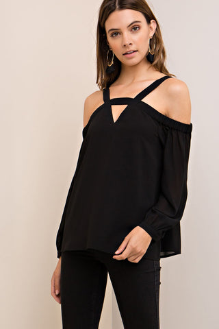 Charolette Top- Black