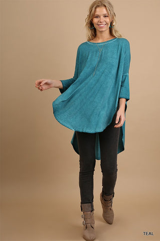 Fly Away Tunic- Teal