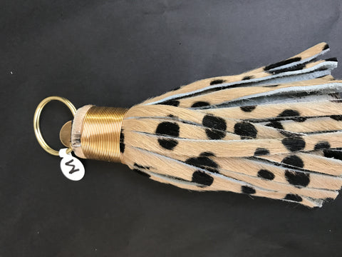 Black/Brown Speckle Tassel
