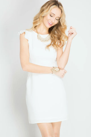 Bright White Dress