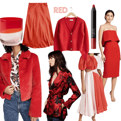 Current Faves in Red