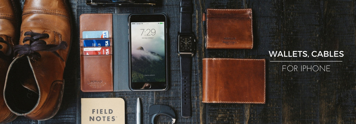 iPhone Charging Cables, Wallets & Folios - Shop Nomad Goods
